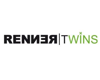 Logo Design For The Design Studio RENNER TWINS logo