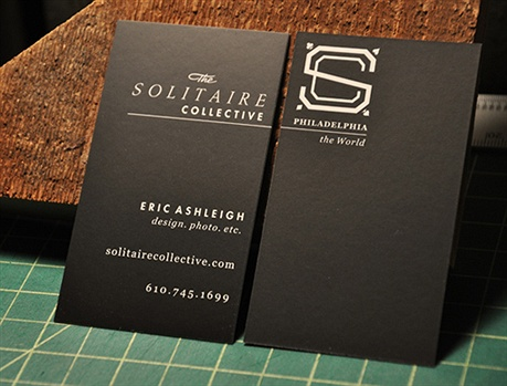 Solitaire Collective business card