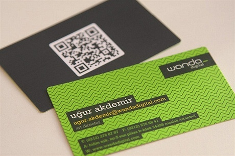 fancy business card