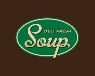 3d,round,soup,fancy logo