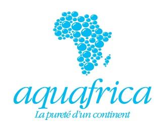 map,aqua,water,bubbles logo