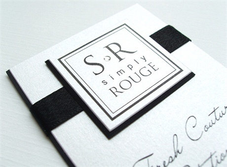 creative,fancy,one color business card