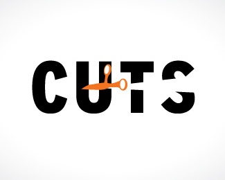 bold,scissor logo