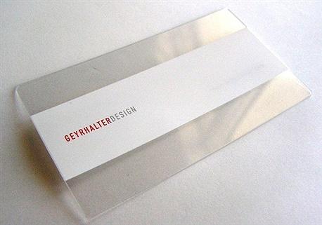 Geyrhalter Design business card