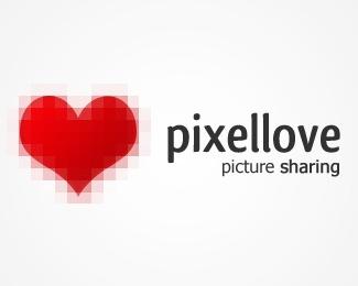 heart,love,pixel logo