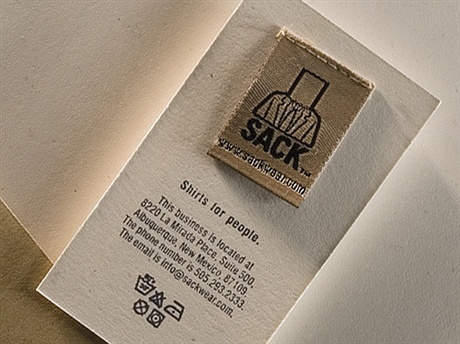 creative,rubber stamp business card
