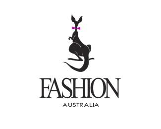 animal,fashion,kangaroo logo