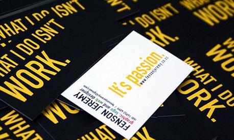 Identity Design Card business card