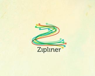 zip,lines,complex logo