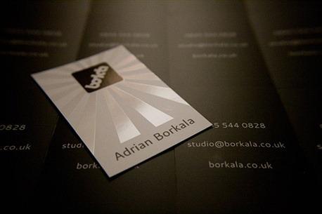 Spot Gloss Design business card