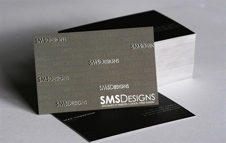 glossy,embossed,matte laminated business card