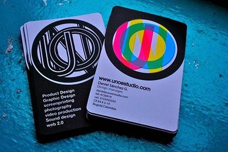 Unoestudio business card