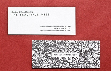 The Beautiful Mess business card