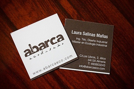 Abarca Eco-Friendly Card business card
