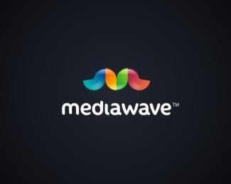 color,wave,fancy logo