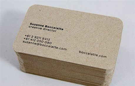 minimalistic,foil stamped,round corner business card