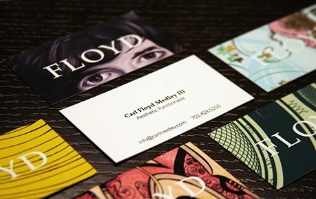 Carl Floyd Medley III business card