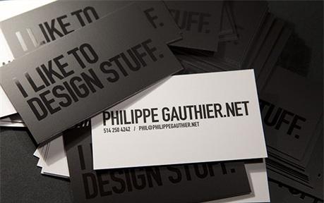 varnish business card