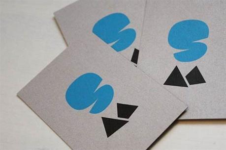 2 color,kraftliner paper business card
