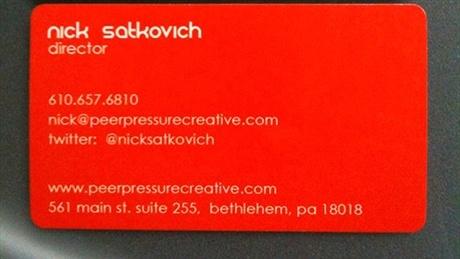 round corner,spot uv business card
