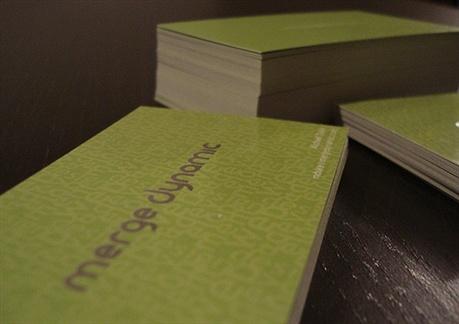 Merge Dynamic business card