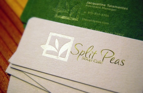 cotton paper,die cut business card