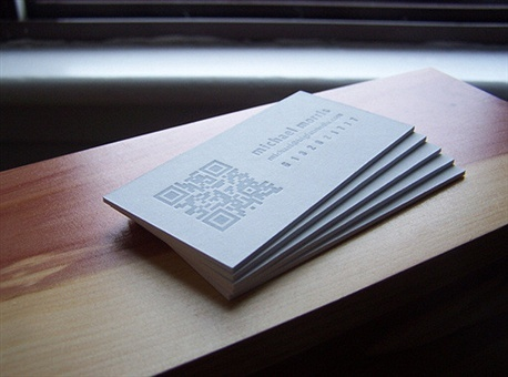 Big Fat Media Cards business card