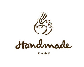 hand,restaurant,cafe logo