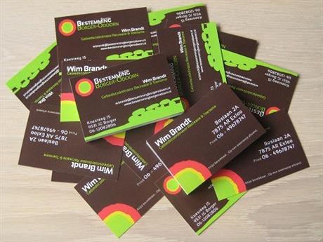 WHG Design business card