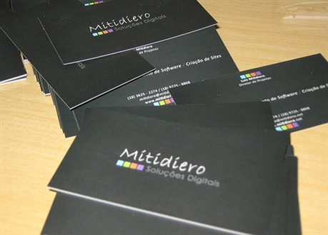 Black Business Card business card