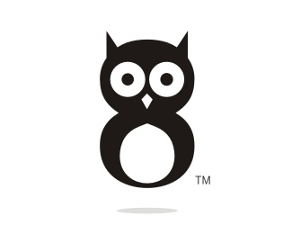 animal,bird,owl logo