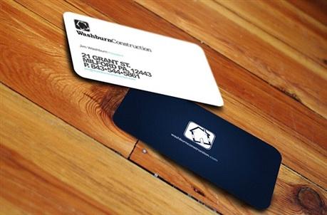 Washburn Construction business card