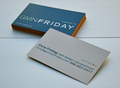 simple,fancy business card