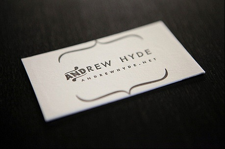 Andrew Hyde business card
