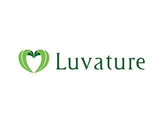 heart,leaf,love,nature logo