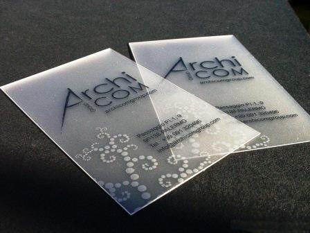 transparent,multi color,offset printed,plastic business card