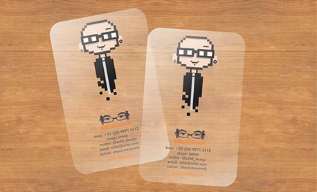8 Bits Identity Card business card