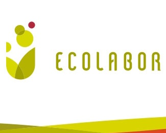 leaves,spots,eco-friendly logo