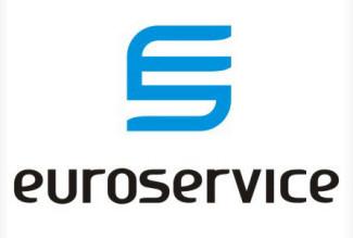 euro,service,strips logo