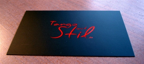 black,matte laminated,spot uv business card