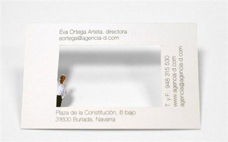 Agencia D business card