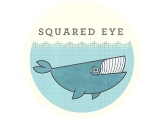 animal,fish,round,eye,water logo