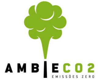 green,tree,carbon,emission logo