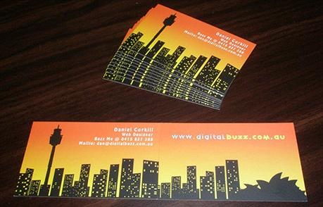 Digital Buzz business card