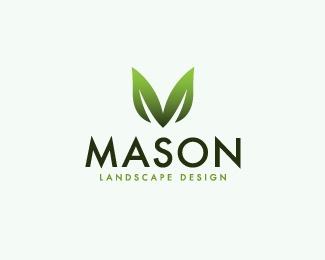 Mason Landscape Design Logo Design Inspiration