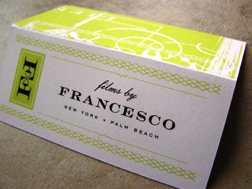 FRANCESCO business card