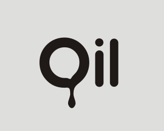 bold,drop,oil logo