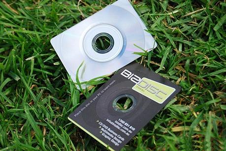 Bizdisc CD Business Card business card