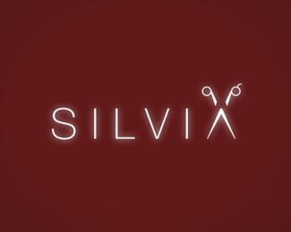 simple,scissor,thin logo