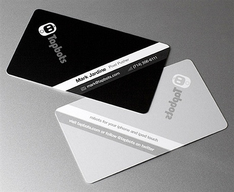 black,multi color,round corner,stylish business card